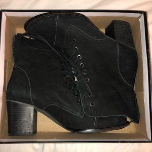 Michael Antonio black booties